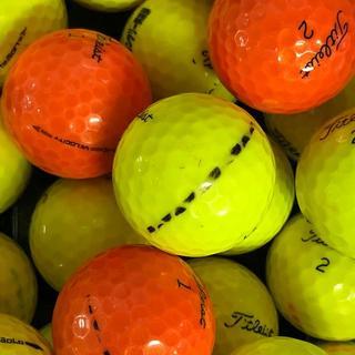 タイトリスト(Titleist)の53・ロストボール タイトリスト カラーボール色々50球(その他)