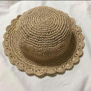 麦わら帽子 ハンドメイド(帽子)