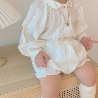ザラキッズ(ZARA KIDS)の韓国子供服 セットアップ ブラウス (カバーオール)
