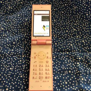 シャープ(SHARP)の送料無料 au SH009 ガラケー 携帯電話 (携帯電話本体)