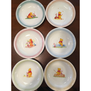 クマノプーサン(くまのプーさん)のプーさん カレー皿、パスタ皿 セット(食器)