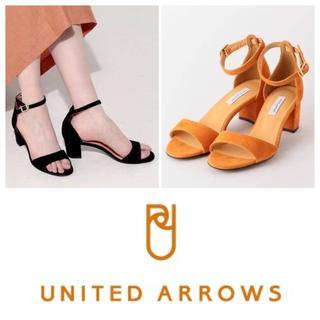 UNITED ARROWS - 『ユナイテッドアローズ』チャンキーヒールサンダル 25cm