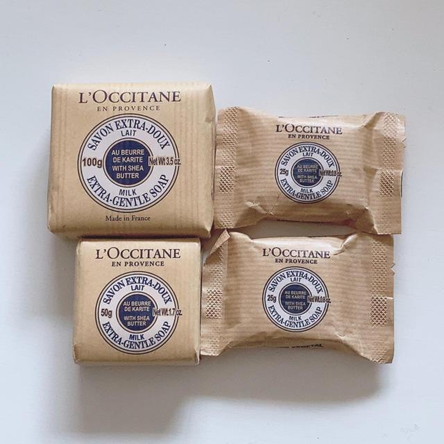 L'OCCITANE(ロクシタン)のシア ロクシタンソープ まとめ売り コスメ/美容のボディケア(ボディソープ/石鹸)の商品写真