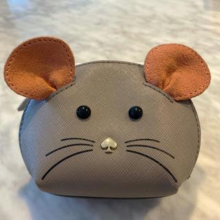 kate spade new york - ケイトスペード kate spade ネズミ コインケース キーケース
