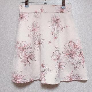 エブリン(evelyn)のAn MILLE 花柄 台形スカート(ミニスカート)