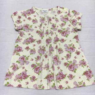 コンビミニ(Combi mini)の花柄トップス(Tシャツ)