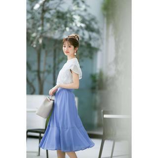 PROPORTION BODY DRESSING - プロポーションボディドレッシング完売色シアーカラーティアードスカート