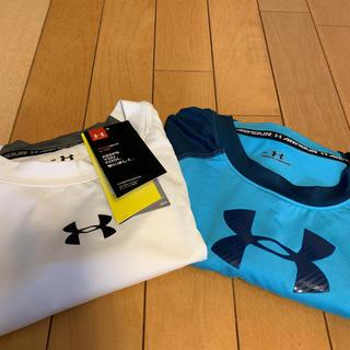 アンダーアーマー(UNDER ARMOUR)のLGサイズ新品アンダーアーマートレーニングシャツ2枚セット(ウェア)