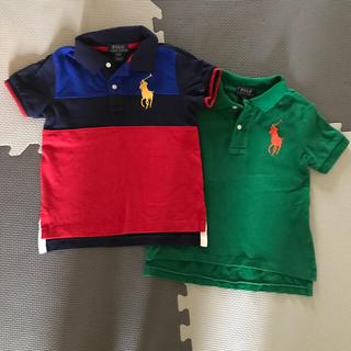 ポロラルフローレン(POLO RALPH LAUREN)のラルフローレン  ポロシャツ2枚(Tシャツ/カットソー)