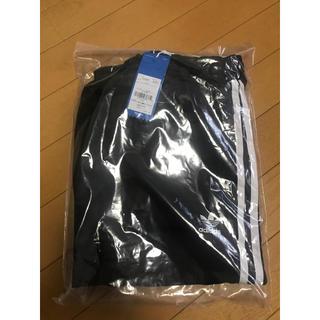 アディダス(adidas)の新品・未使用 アディダスオリジナル Mサイズ ブラック ロングサテンスカート(ロングスカート)
