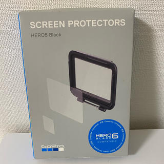 ゴープロ(GoPro)の GoPro GoPro プロテクトスクリーンfor HERO5 ブラック (コンパクトデジタルカメラ)