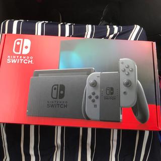 Nintendo Switch - 任天堂 スイッチ 本体 グレー 新品未開封