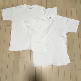 アンビル(Anvil)のAnvil preshrunk Lサイズ 白2枚セット(Tシャツ(半袖/袖なし))