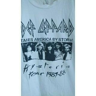 デミルクスビームス(Demi-Luxe BEAMS)のDEF LEPPARD デフレパード グラフィック バンド 80s ロックT (Tシャツ(半袖/袖なし))