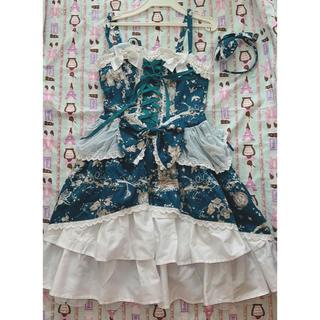 アリスアンドザパイレーツ(ALICE and the PIRATES)のNight Fairy Fantasia ジャンバースカートセット(ひざ丈ワンピース)