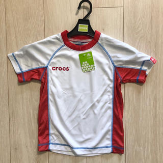 クロックス(crocs)の新品 crocs クロックス Tシャツ 120 キッズ 男の子(Tシャツ/カットソー)