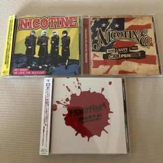 nicotine  3枚セットpart4 カバー集(ポップス/ロック(邦楽))