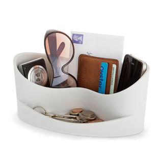 フランフラン(Francfranc)の箱あり J-me/ オーガナイザーCasa グレー 小物入れに(コーヒーテーブル/サイドテーブル)