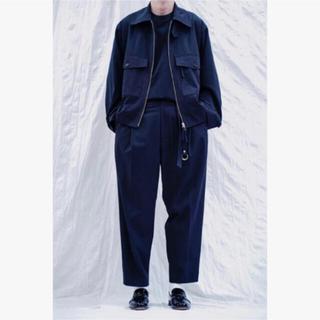 1LDK SELECT - URU (ウル)TOKYO 1TUCK PANTS [NAVY]