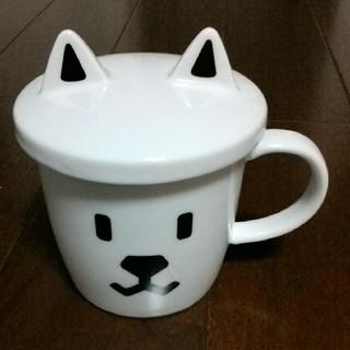 ソフトバンク(Softbank)の新品 お父さんカップSoftBank+アンパンマン食器(箱付)(グラス/カップ)