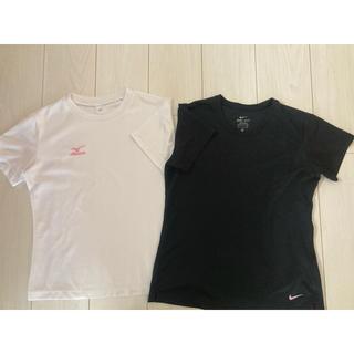 ナイキ(NIKE)のナイキ・ミズノ Tシャツ レディース 2枚セット(ウェア)