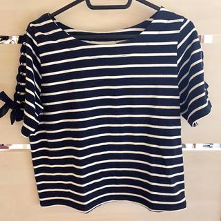 マジェスティックレゴン(MAJESTIC LEGON)のボーダーT(Tシャツ/カットソー(半袖/袖なし))