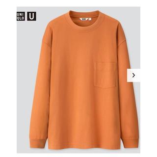 ユニクロ(UNIQLO)のユニクロU クルーネック長袖T(Tシャツ/カットソー(七分/長袖))