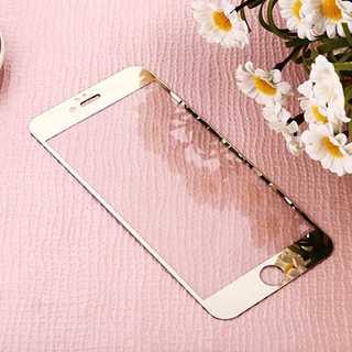iPhone7Plus/8Plus ゴールド 液晶強化ガラス保護フィルム Pow(モバイルケース/カバー)