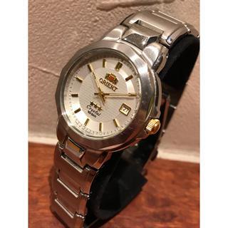 オリエント ORIENT UN71-CO メンズ クォーツ 腕時計 稼働品