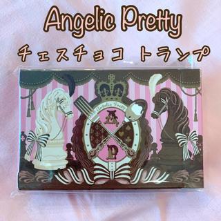 アンジェリックプリティー(Angelic Pretty)の新品 Angelic Pretty チェスチョコレート トランプ プリティ(トランプ/UNO)
