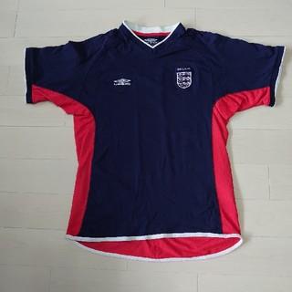 アンブロ(UMBRO)のアンブロ サッカーイングランド代表ロゴ入りTシャツ(Tシャツ/カットソー(半袖/袖なし))