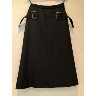AKIRA NAKA アキラナカ ブラック 台形 スカート