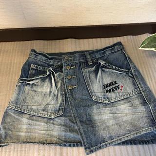 インナープレス(INNER PRESS)のインナープレス  デニムミニスカート 160(パンツ/スパッツ)