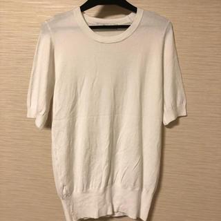 ザラ(ZARA)の🌸🟧大幅最終値下げ‼️ZARA 半袖ニット(Tシャツ(半袖/袖なし))