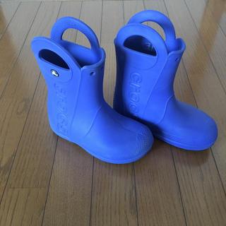 クロックス(crocs)のクロックス長靴☆19㎝(長靴/レインシューズ)