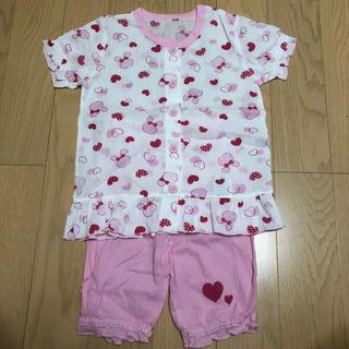 アカチャンホンポ(アカチャンホンポ)の半袖 パジャマ 100(パジャマ)