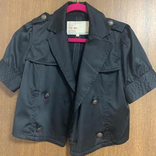 イチナナキュウダブルジー(179/WG)のショート丈トレンチジャケット 179/WG 美品(テーラードジャケット)