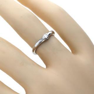 ヴァンドームアオヤマ(Vendome Aoyama)のダイヤ プラチナ PT900 リング 確認画像2(リング(指輪))