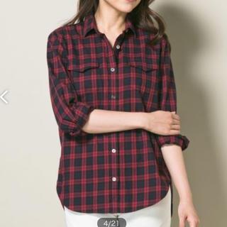 23区 - 【23区】チェックシャツ