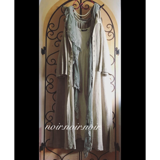 nest Robe - 未使用 ヴラスブラム コルトレイクリネン ロングカーディガン リネン 羽織り