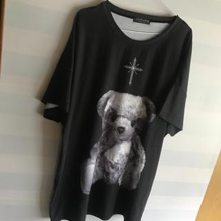 ミルクボーイ(MILKBOY)のTRAVAS TOKYO 初期 くま BIG Tシャツ ブラック(Tシャツ/カットソー(半袖/袖なし))