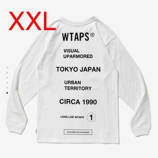 W)taps - wtaps CIRCA L/S TEE WHITE XXL
