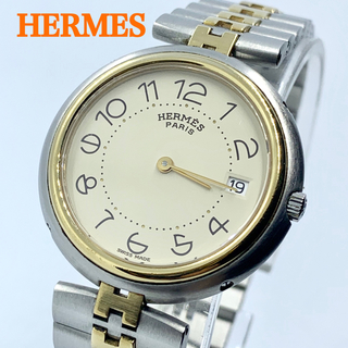 Hermes - 良品 HERMES エルメス プロフィール クォーツ メンズ腕時計