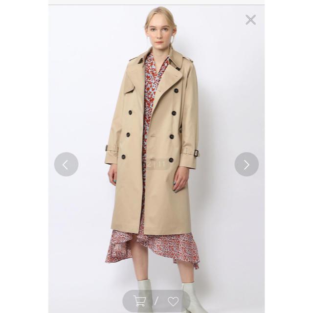 TOMORROWLAND(トゥモローランド)のBACCA トゥモローランド ライナー付 トレンチコート レディースのジャケット/アウター(トレンチコート)の商品写真