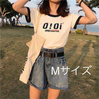 ZARA - oioi Tシャツ ホワイト レディース 韓国 韓国ファッション