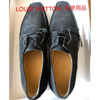 ルイヴィトン(LOUIS VUITTON)のルイヴィトン メンズ 靴 ブラック サイズ8(ドレス/ビジネス)