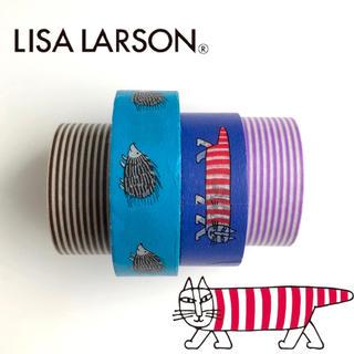 Lisa Larson - リサラーソン マスキングテープ 4個 まとめ売り