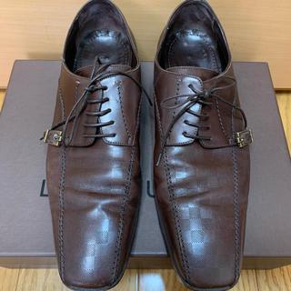 ルイヴィトン(LOUIS VUITTON)のLOUIS VUITTON ルイヴィトン 革靴 ブラウン(ドレス/ビジネス)