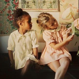 Caramel baby&child  - bonjour diary ボンジュールダイアリー ブラウス 8Y