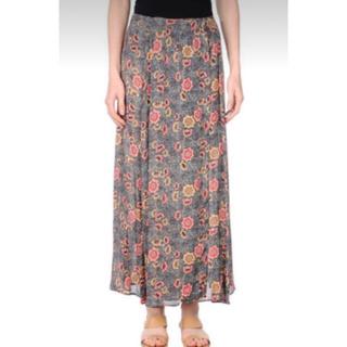 イザベルマラン(Isabel Marant)のSABEL MARANT ETOILEイザベルマラン エトワール総柄巻きスカート(ロングスカート)
